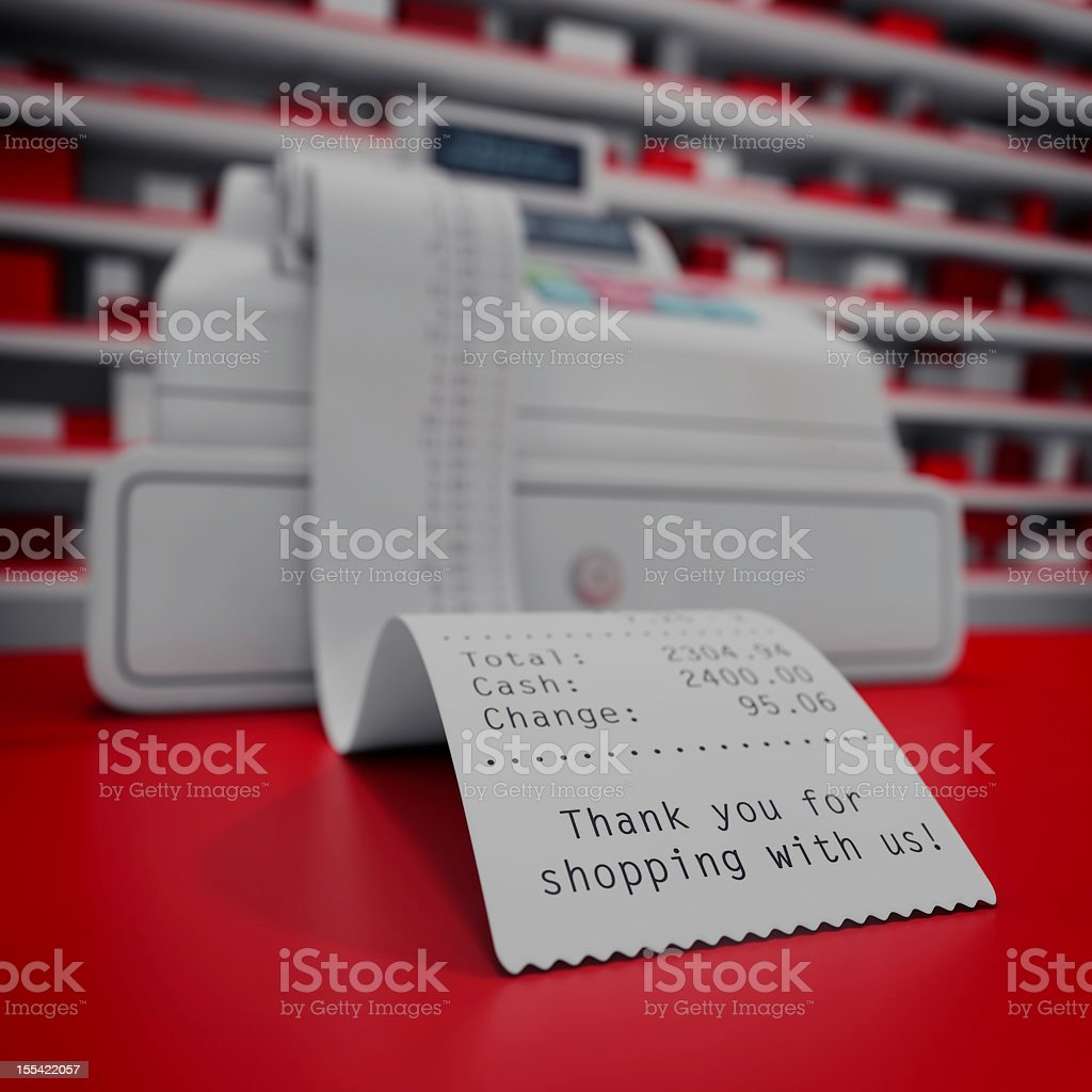 cash box royalty-free stock photo