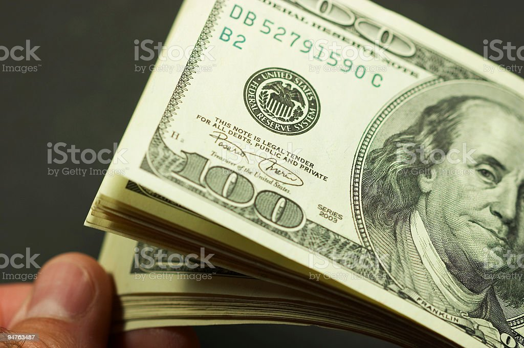 cash count #1 royalty-free stock photo