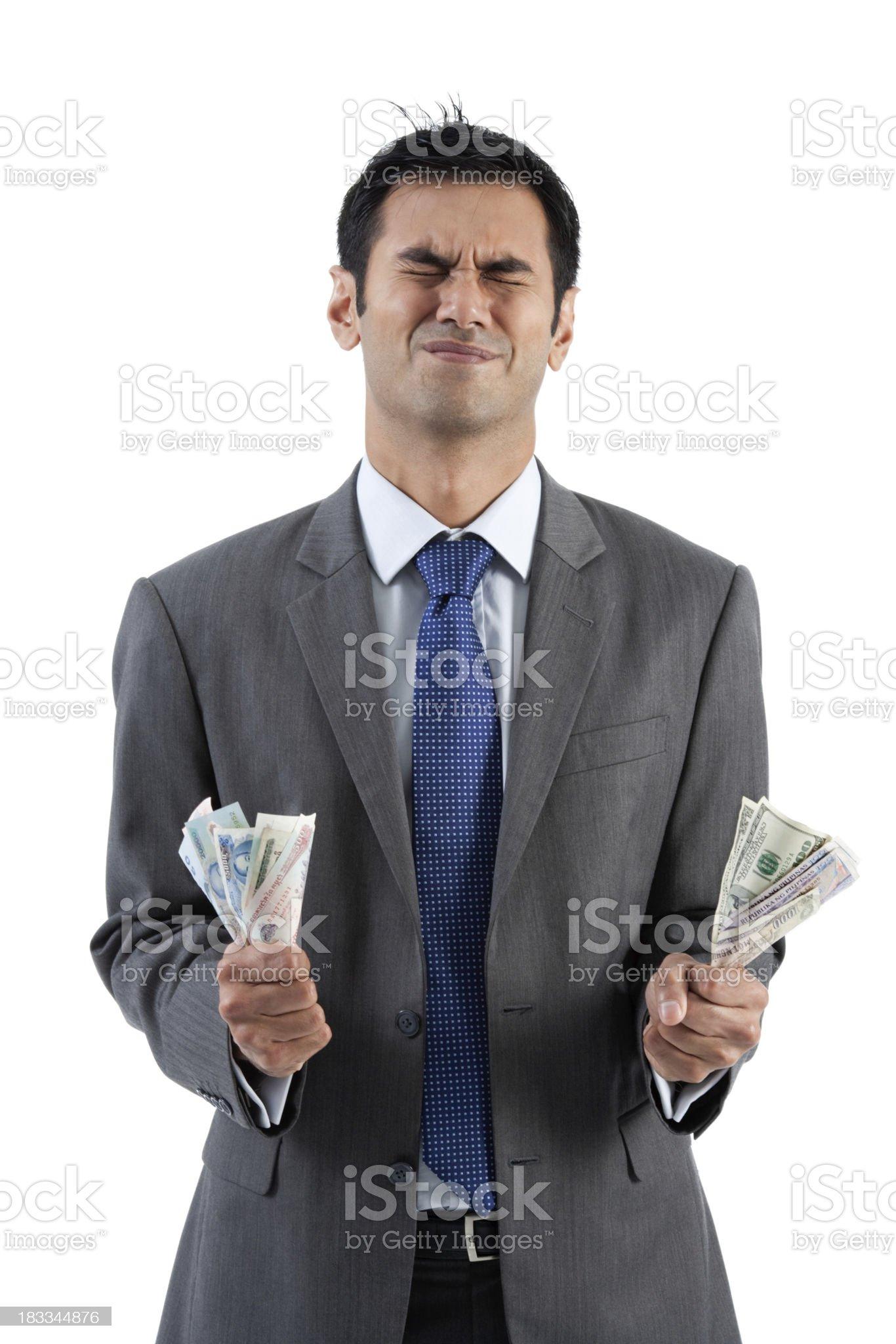 Cash Crunch royalty-free stock photo
