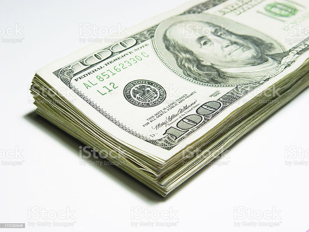 Cash Dividends royalty-free stock photo
