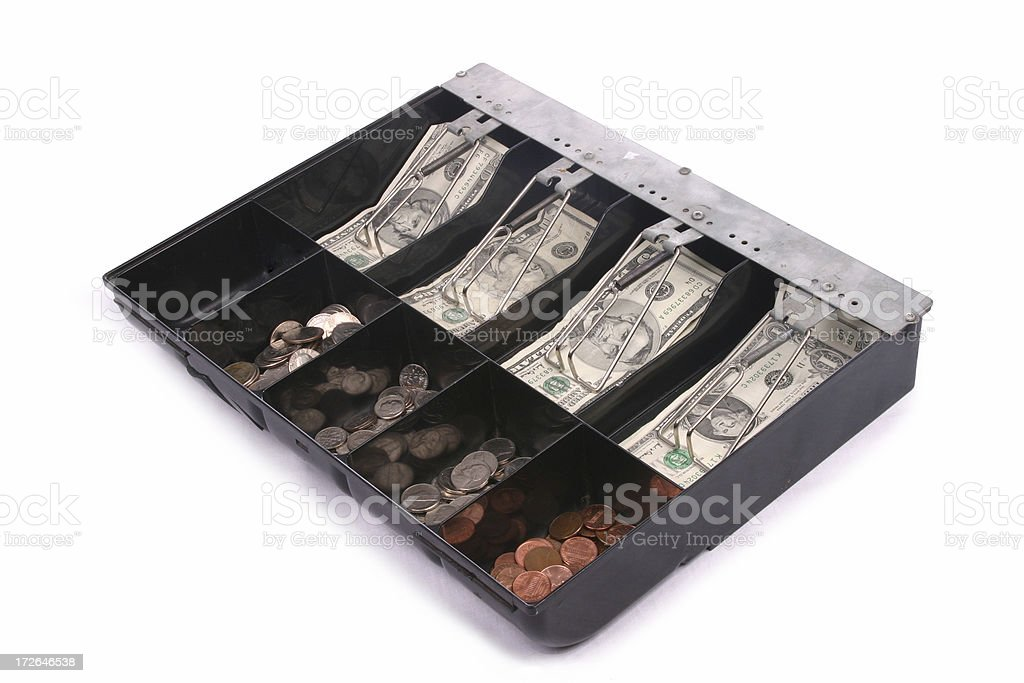 Cash Drawer 1 royalty-free stock photo