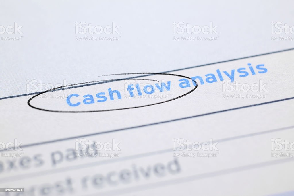 Cash Flow stock photo