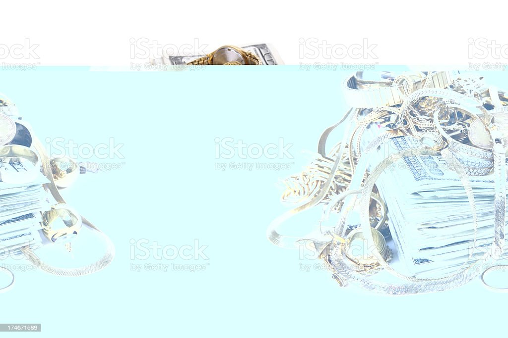 Cash for Scrap Gold royalty-free stock photo