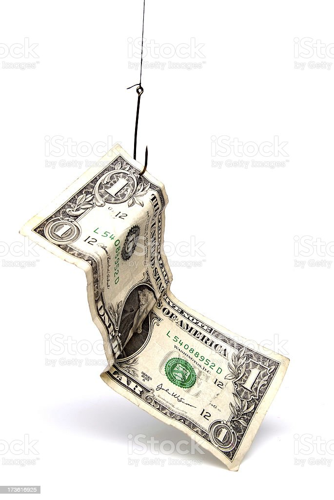 Cash Incentive royalty-free stock photo