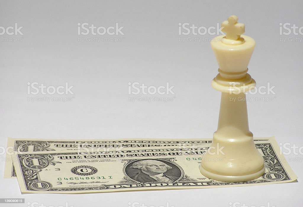 cash is king #5 stock photo