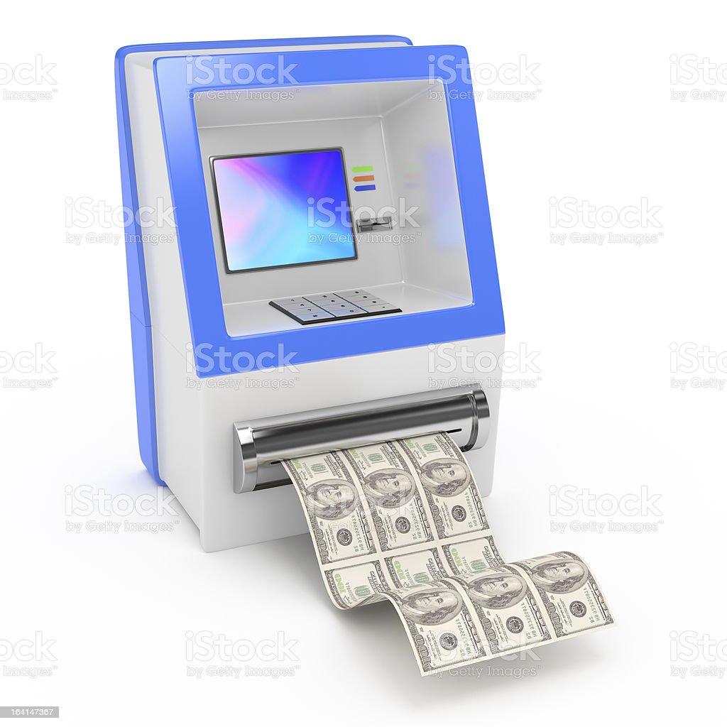 cash machine royalty-free stock photo
