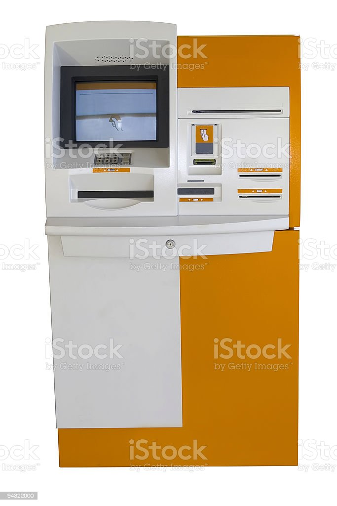 cash machine royalty-free stock photo