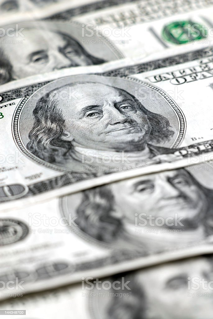 Cash Money royalty-free stock photo