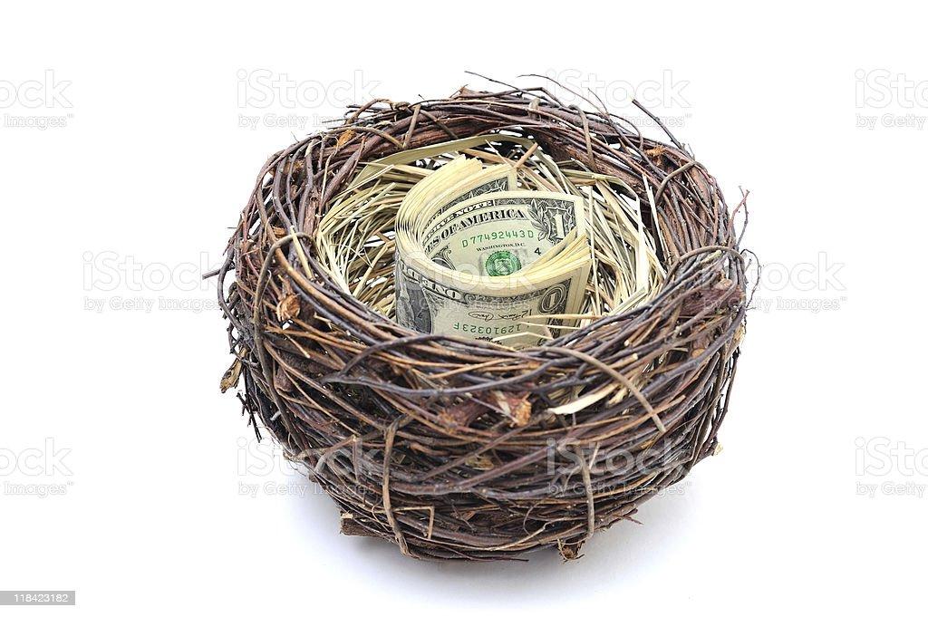 cash nest royalty-free stock photo