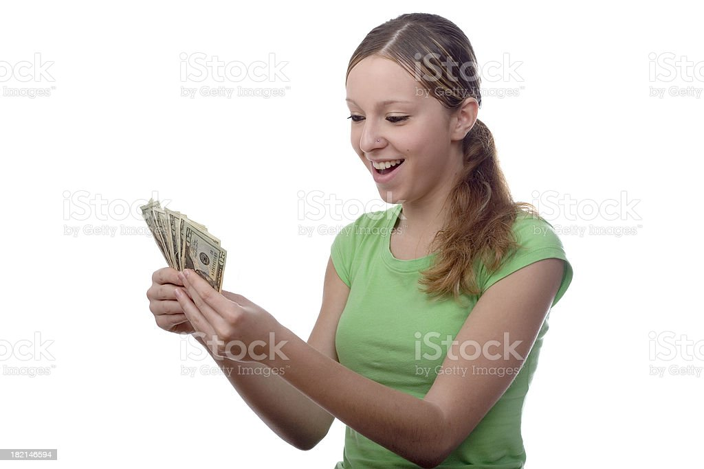 Cash ! royalty-free stock photo