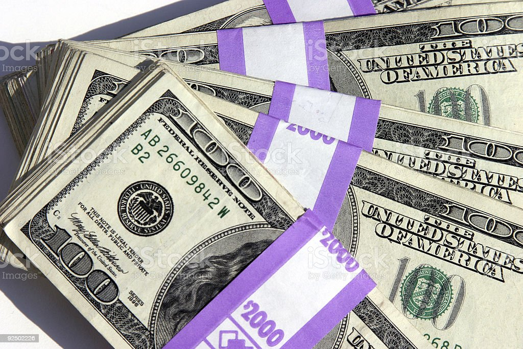 $10,000.00 Cash #5 royalty-free stock photo