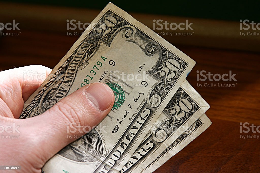 Cash Please royalty-free stock photo