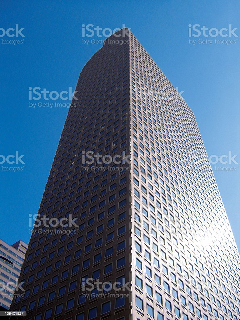 Cash Register Building royalty-free stock photo