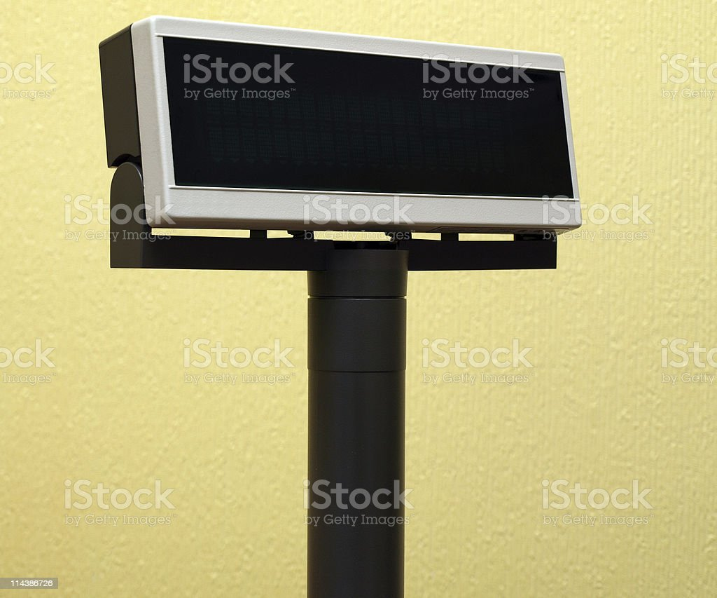 Cash Register Display royalty-free stock photo