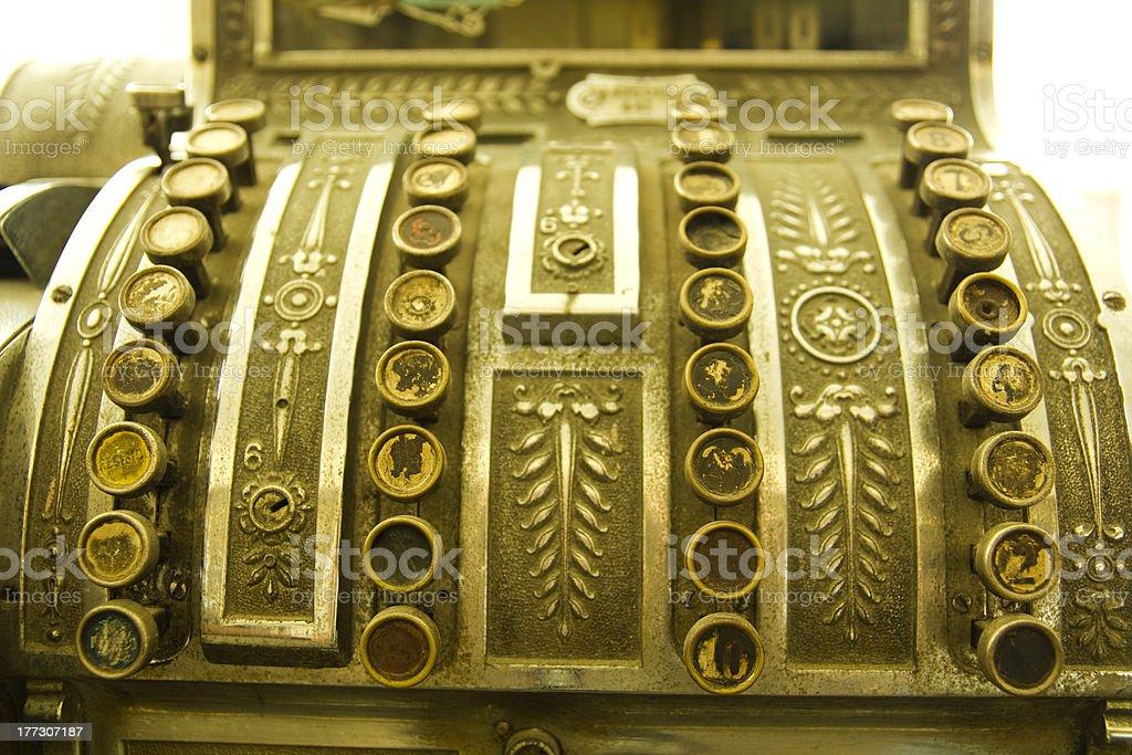 Cash register. royalty-free stock photo