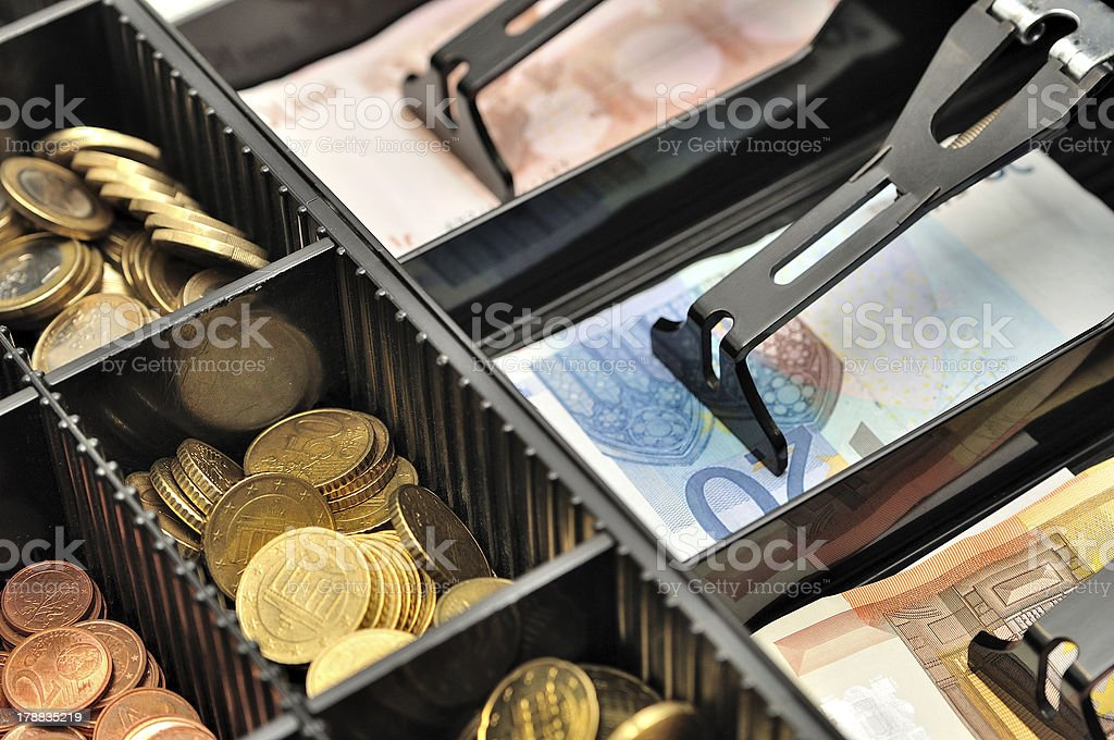 Cash register. royalty-free stock photo