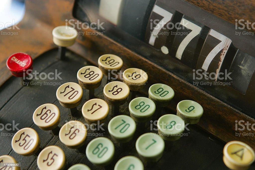 Cash register stock photo