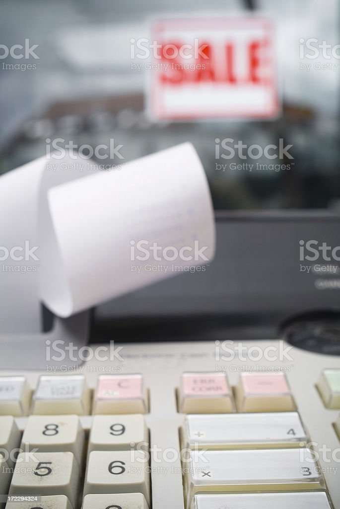 Cash Register Series royalty-free stock photo