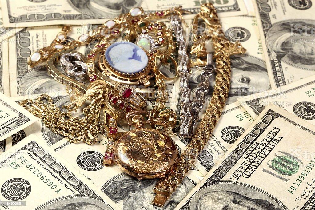 Cash Value royalty-free stock photo