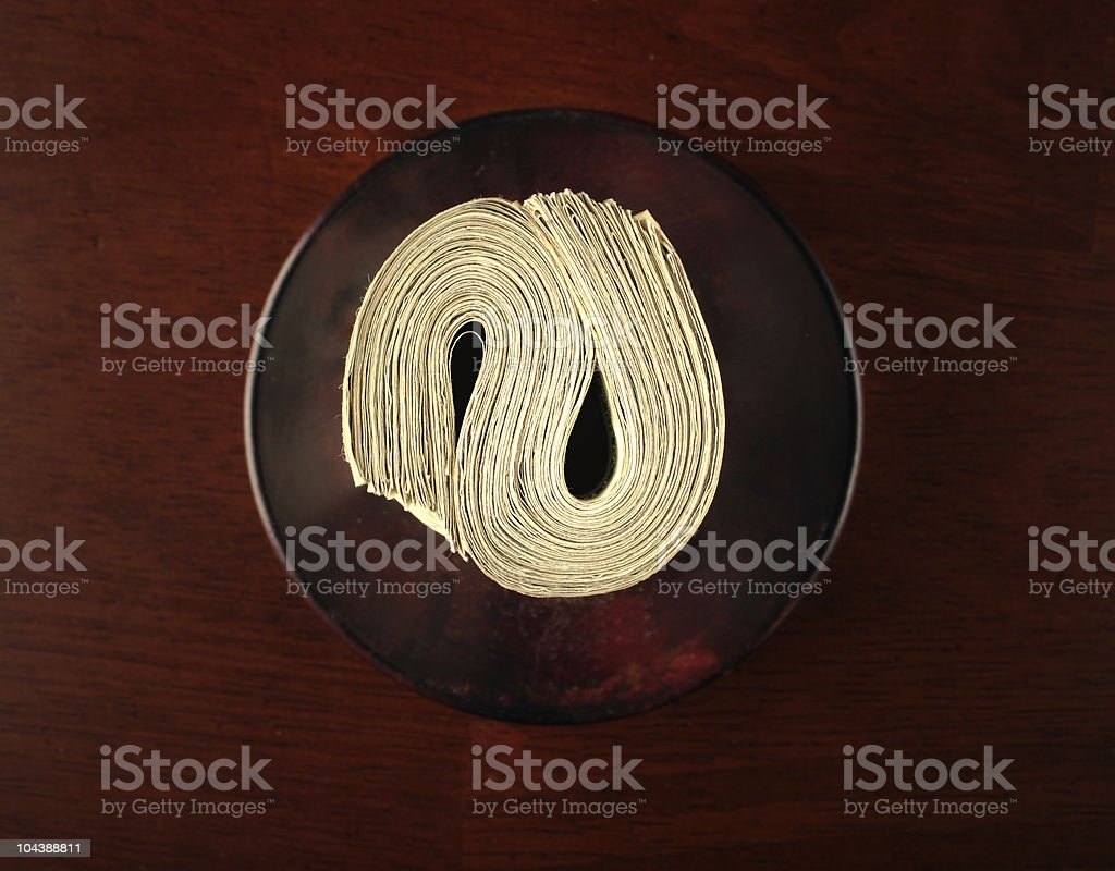 cash_roll royalty-free stock photo