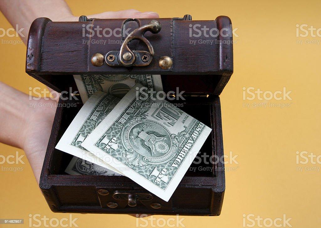 Cashbox royalty-free stock photo