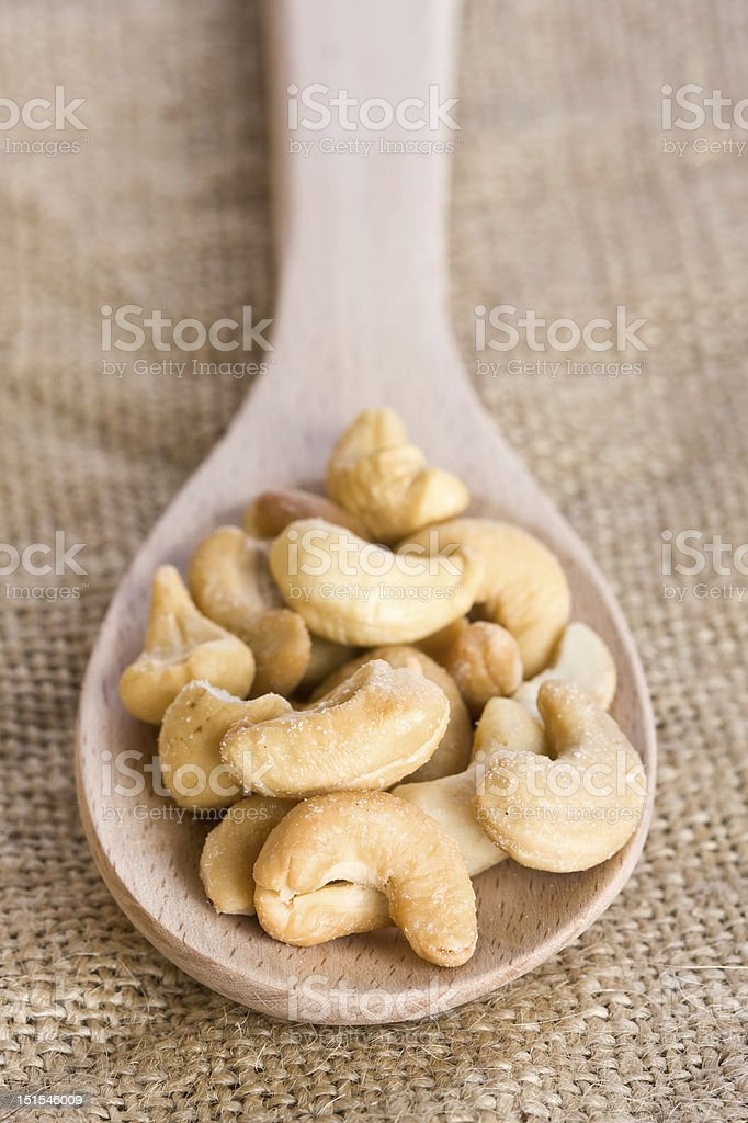 Cashew Nuts royalty-free stock photo