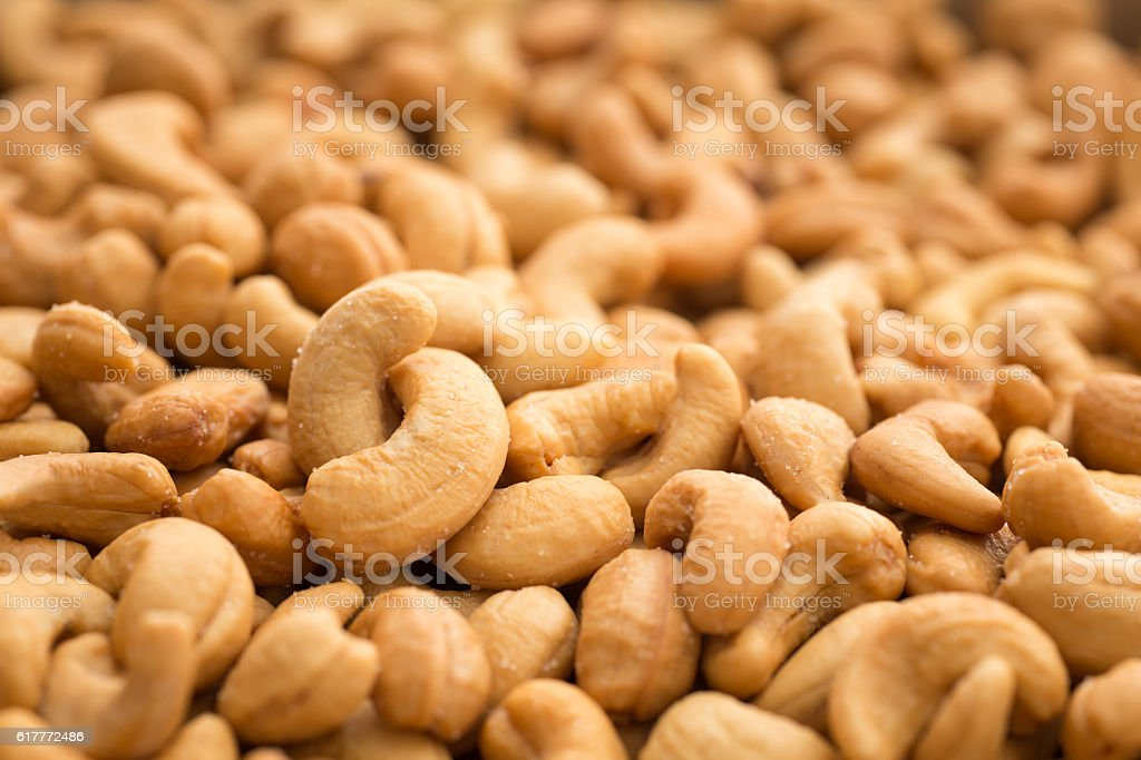 Cashews stock photo