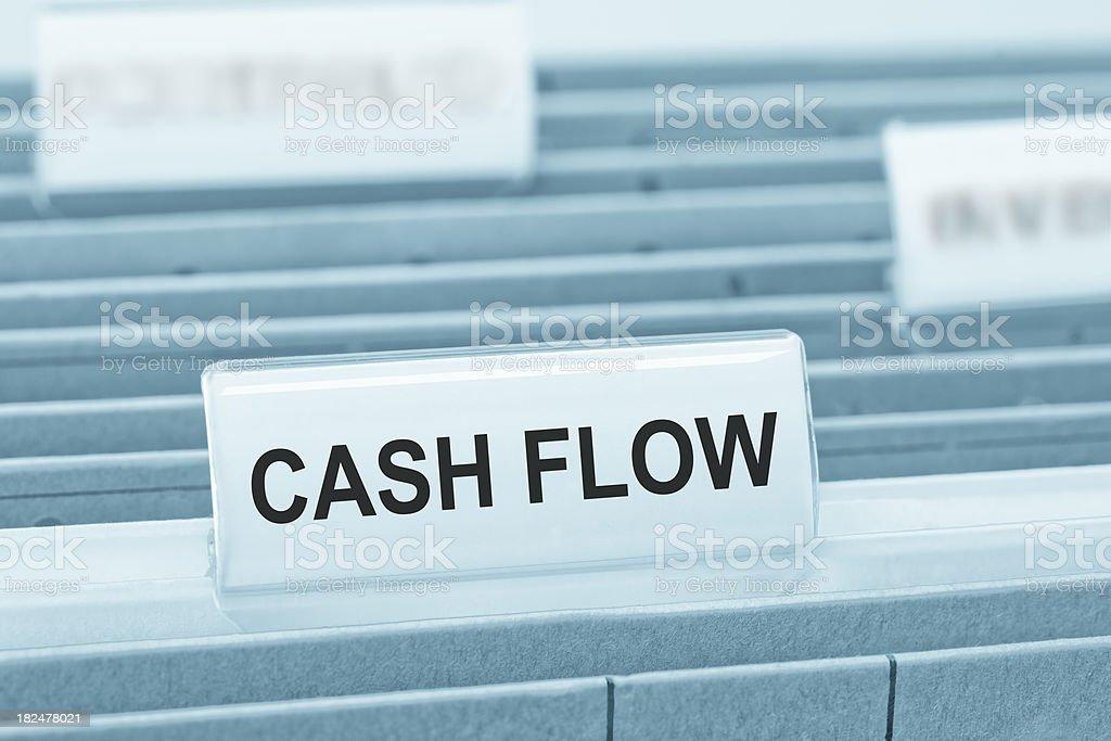 Cashflow stock photo