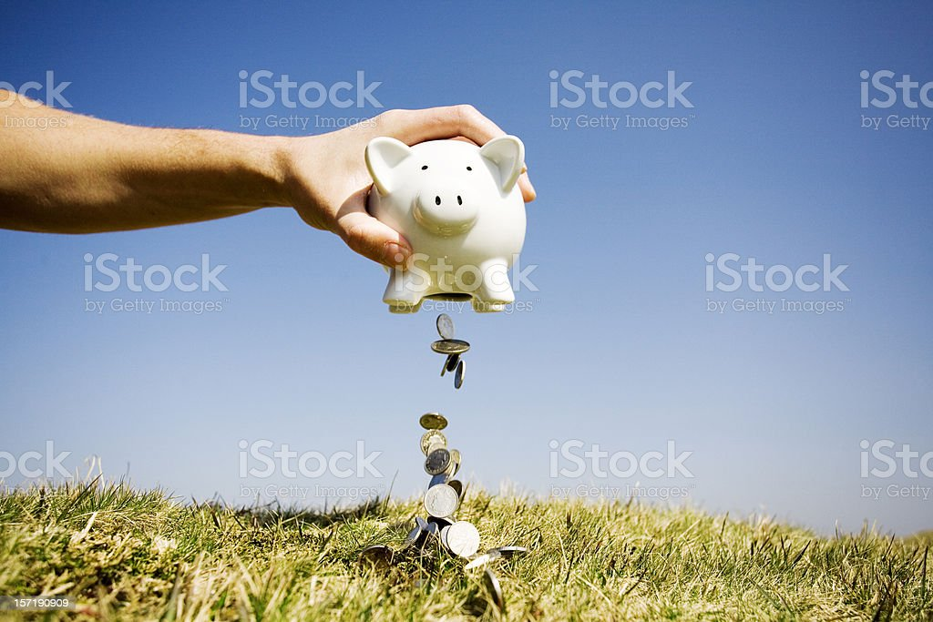 Cashing out royalty-free stock photo