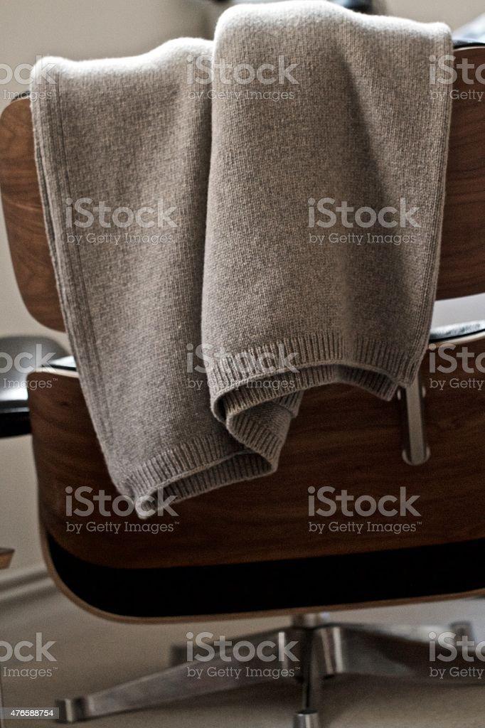 Cashmere Blanket stock photo