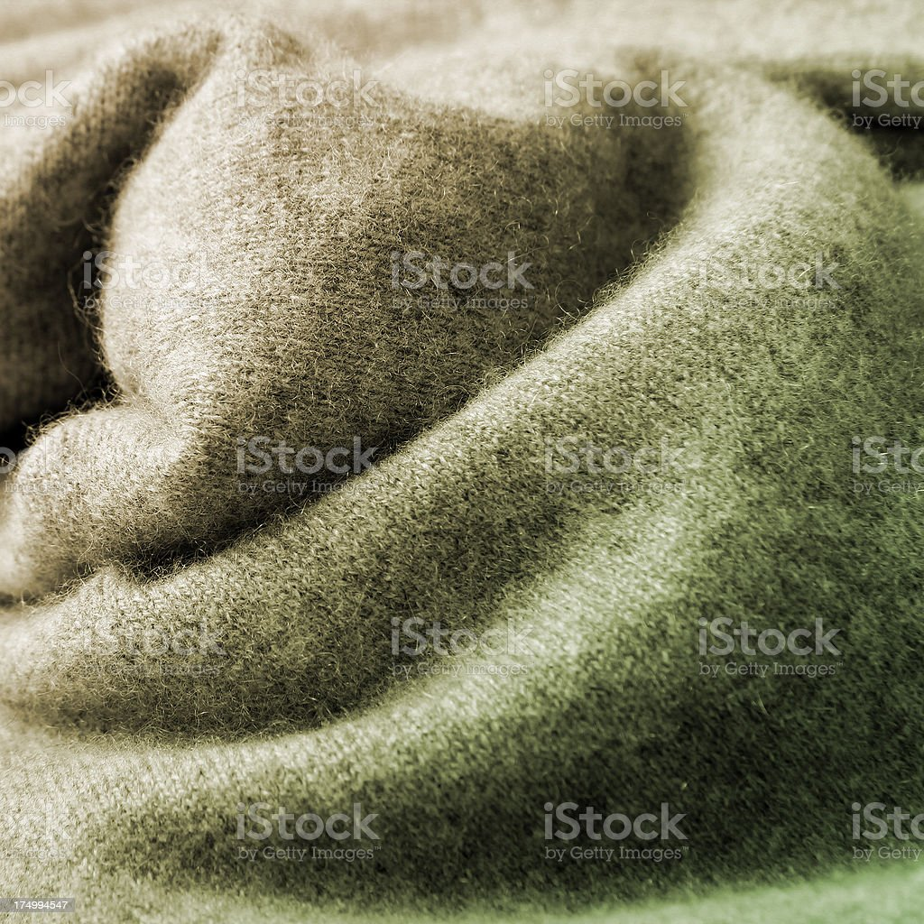 Cashmere Green Pullover royalty-free stock photo