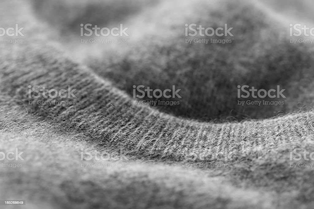Cashmere sweater (detail) stock photo