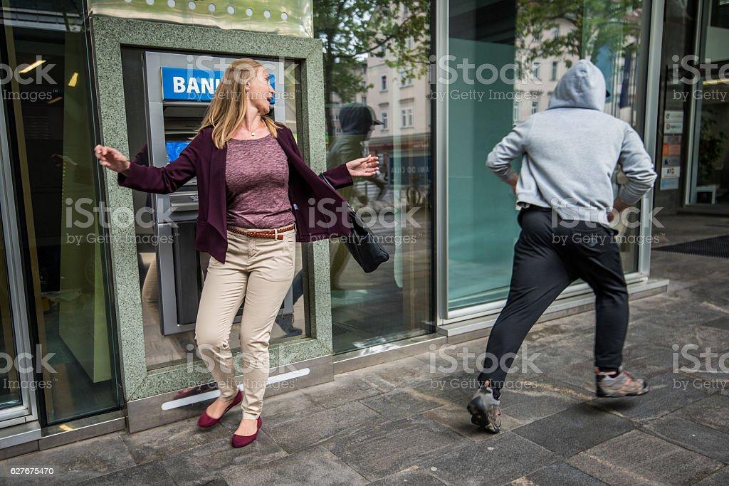 Cashpoint Machine stock photo