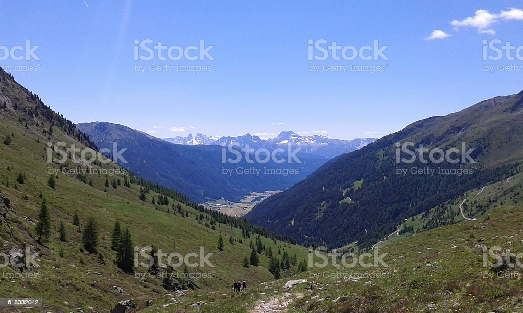 Casies Valley, Southtyrol, Italy, 30th of June 2016 stock photo