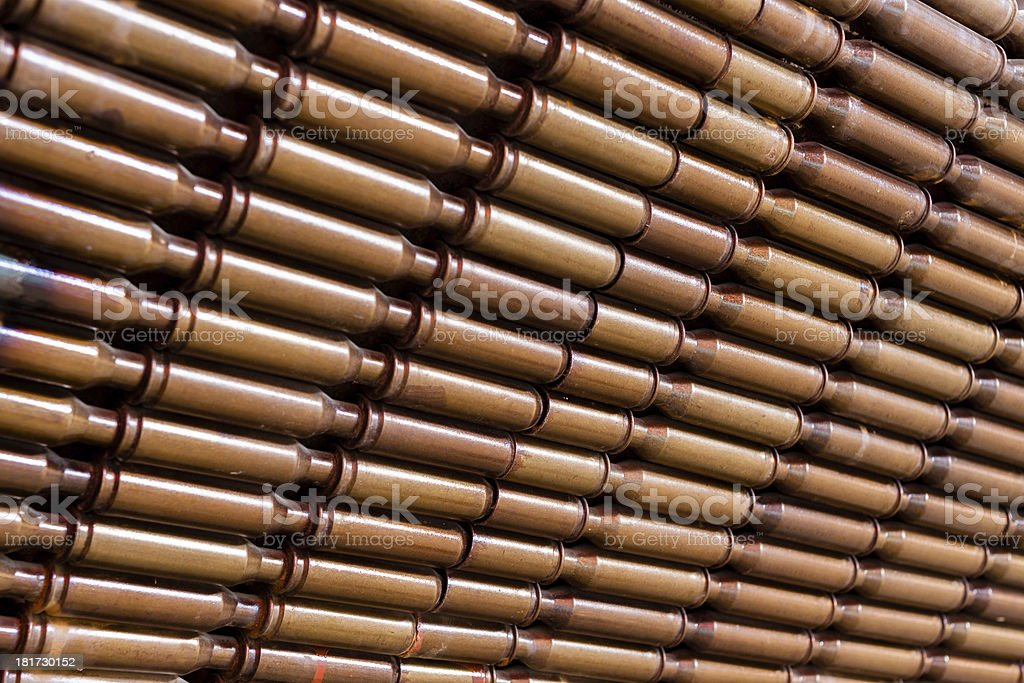 Casings are connected together royalty-free stock photo