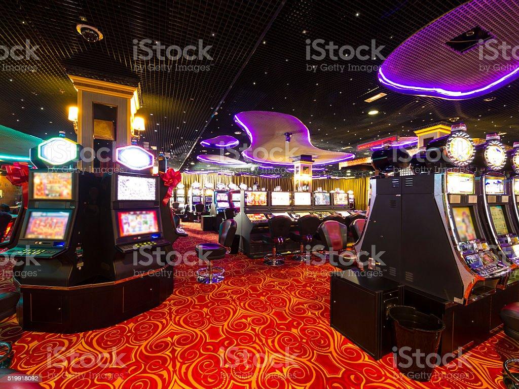 Casino at wait stock photo
