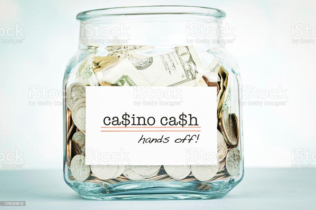 Casino Cash! royalty-free stock photo