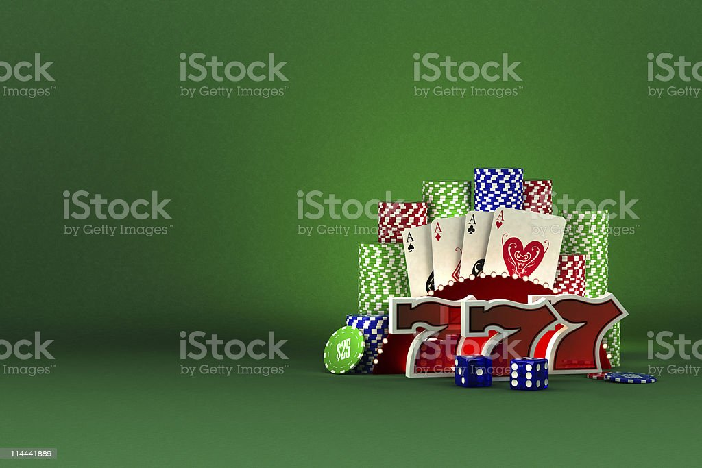 Casino concept royalty-free stock photo