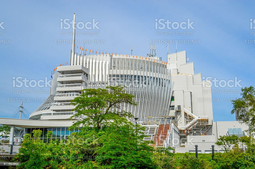 Casino de Montreal stock photo