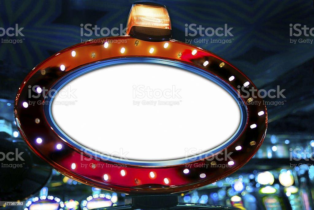 Casino display stock photo