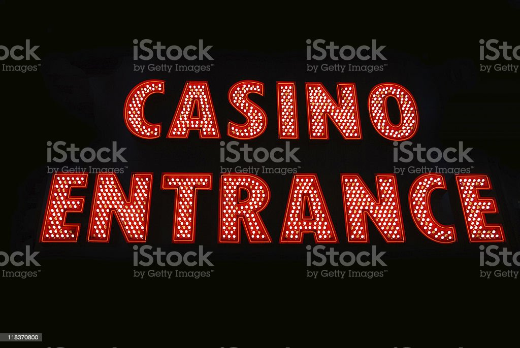 Casino Entrance royalty-free stock photo