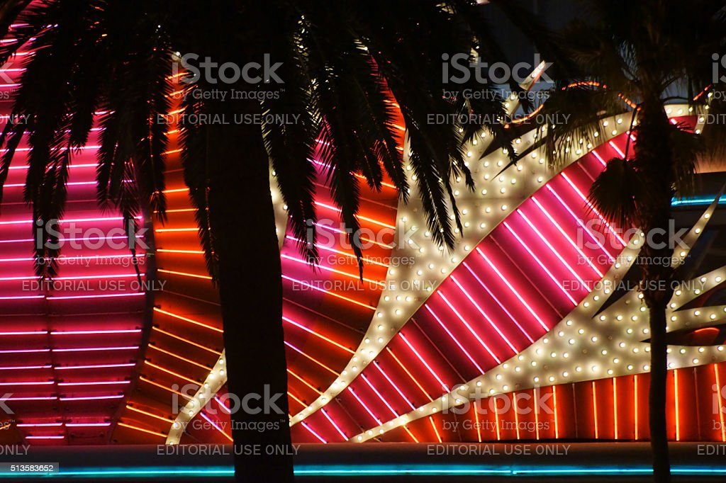 Casino Flamingo Las Vegas stock photo