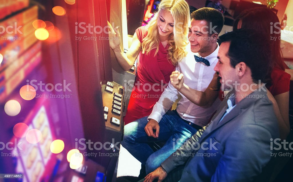 Casino fun. stock photo