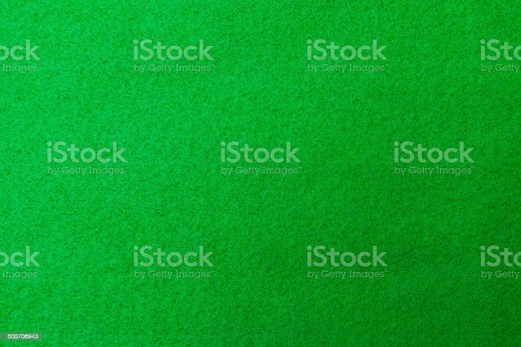 Casino green table background stock photo