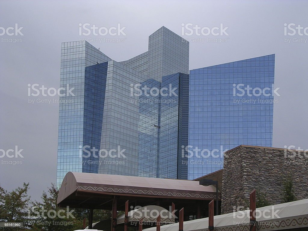Casino Hotel in Connecticut royalty-free stock photo