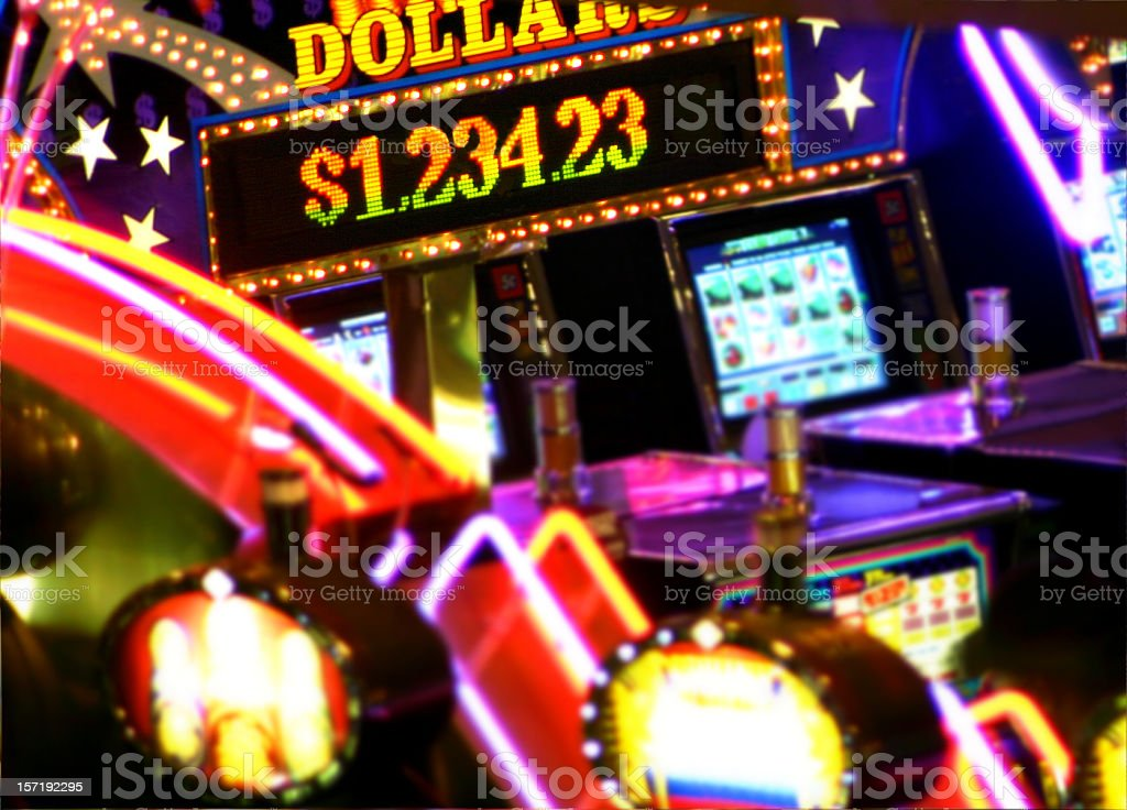 Casino Jackpot stock photo