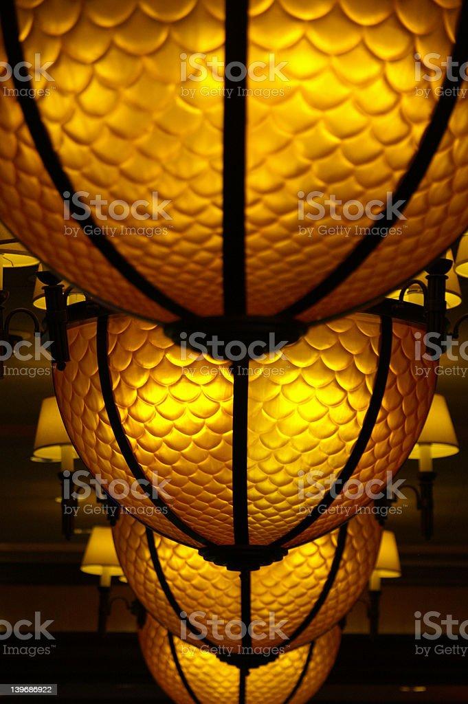 Casino lights royalty-free stock photo