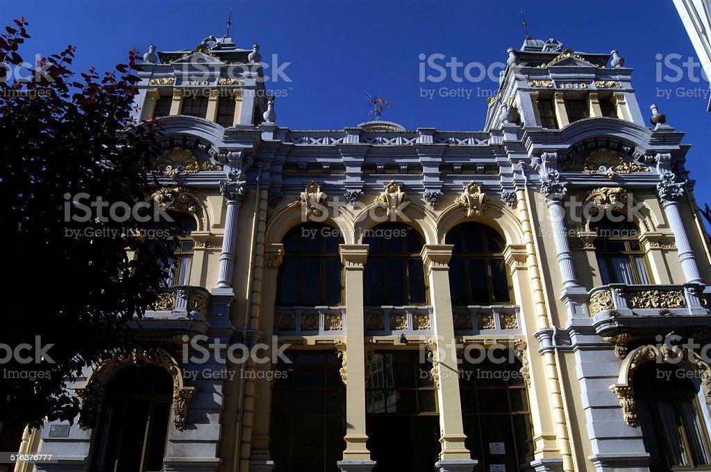 casino, LLanes, Asturias stock photo