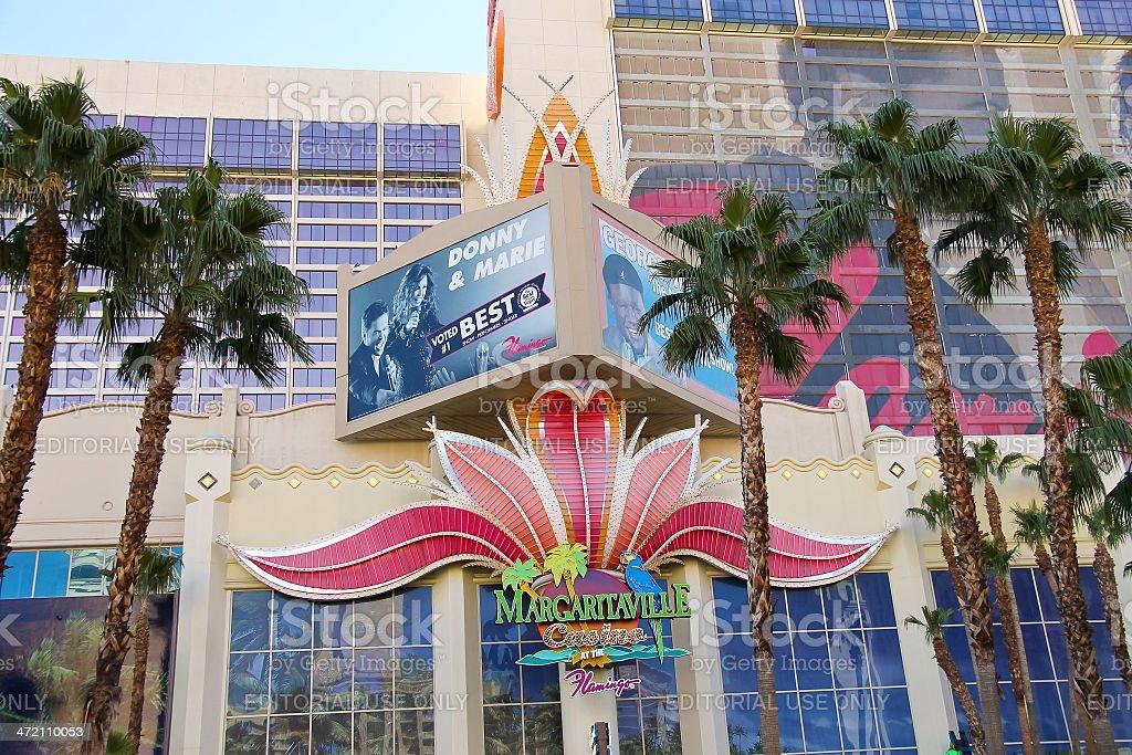 Casino Margaritaville at the Flamingo   in Las Vegas stock photo