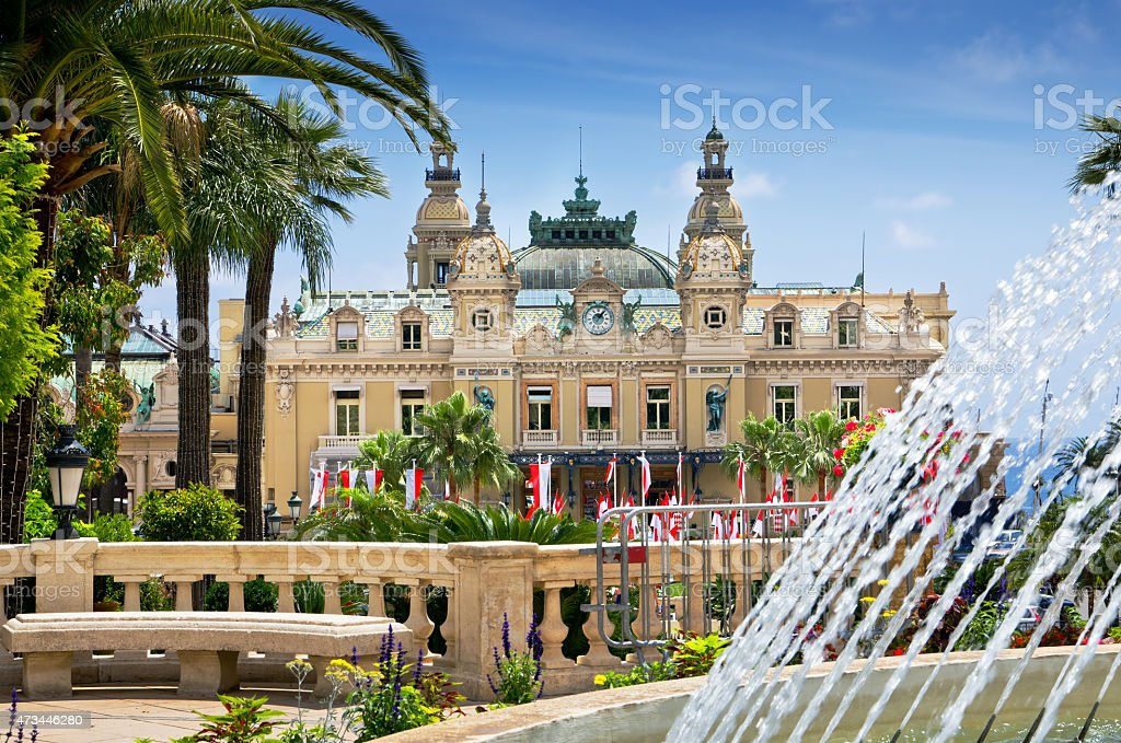 Casino, Monte Carlo, Monaco stock photo